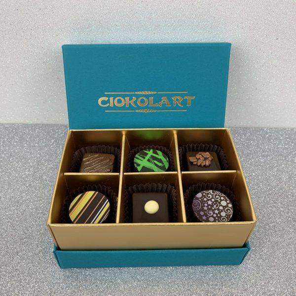 Collezione Elegante, 6 cioccolatini