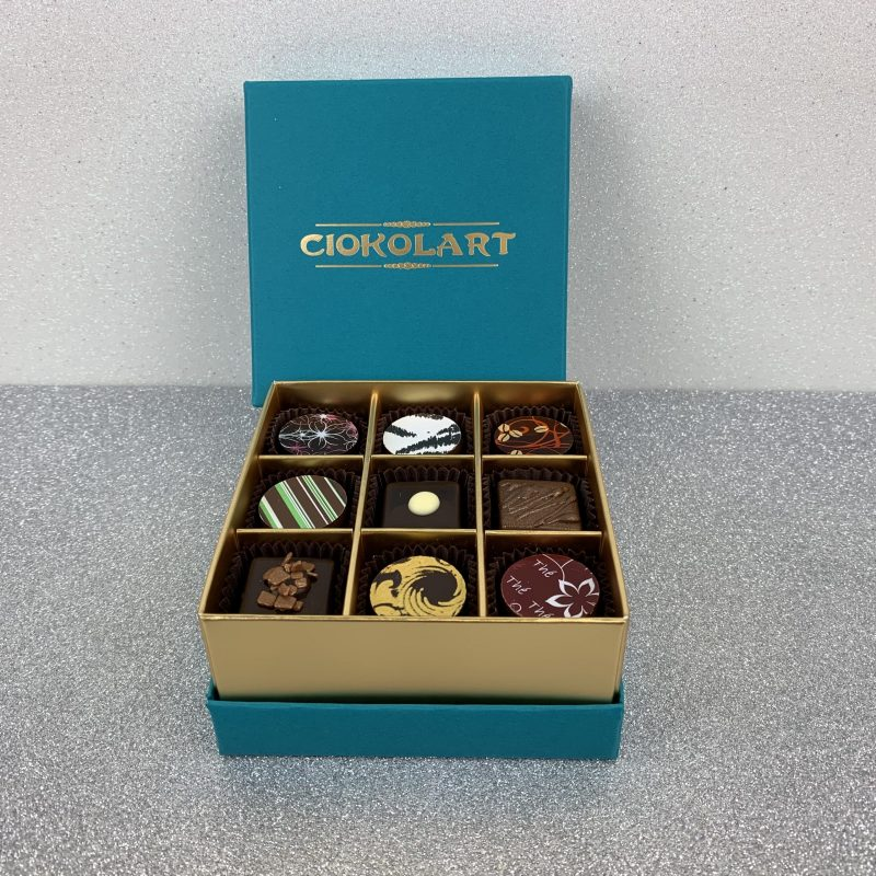 Collezione Elegante, 9 cioccolatini