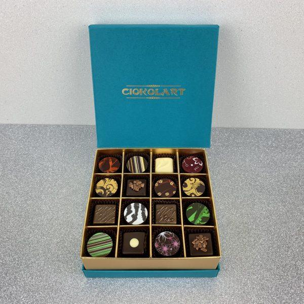 Collezione Elegante, 16 cioccolatini