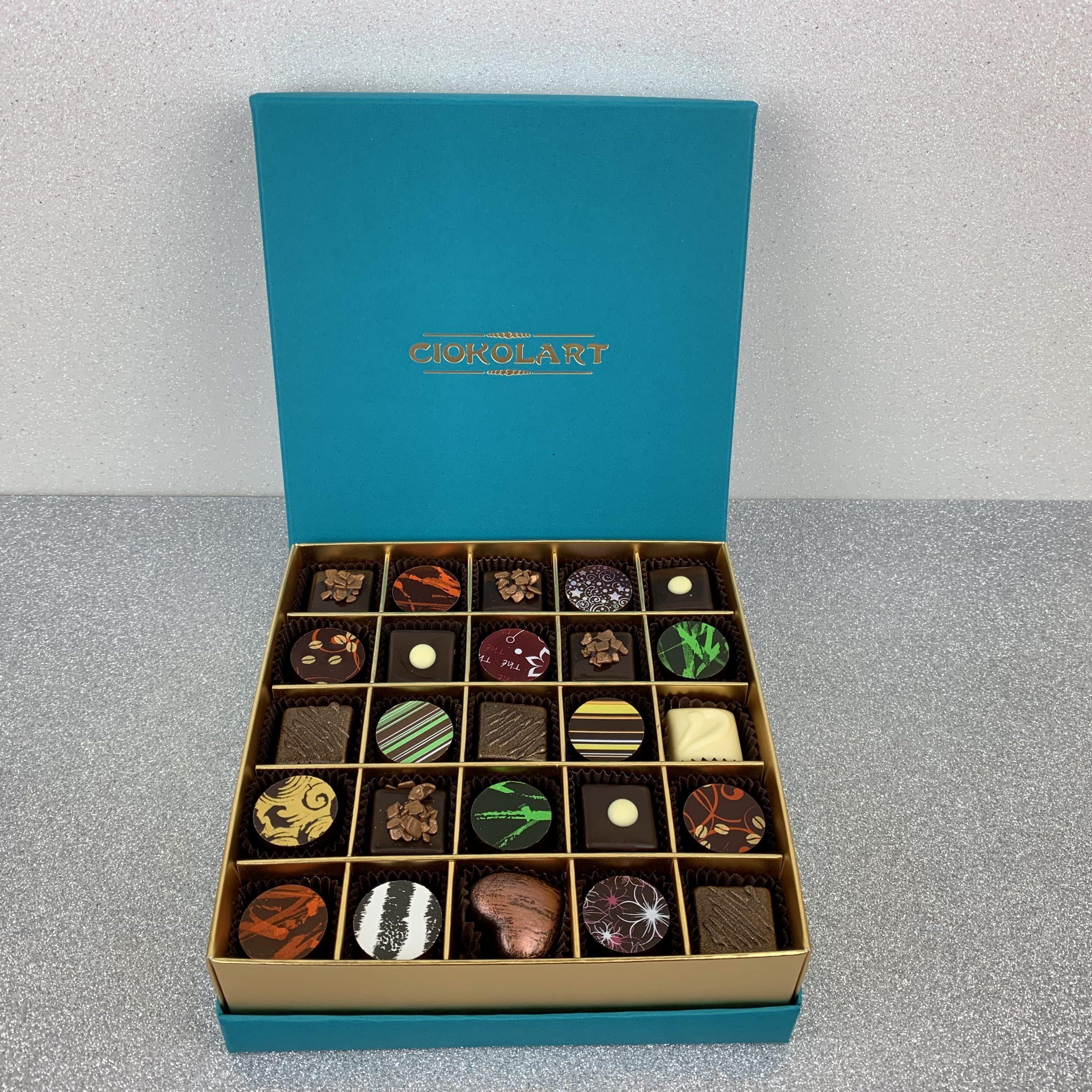 Collezione Elegante, 25 cioccolatini