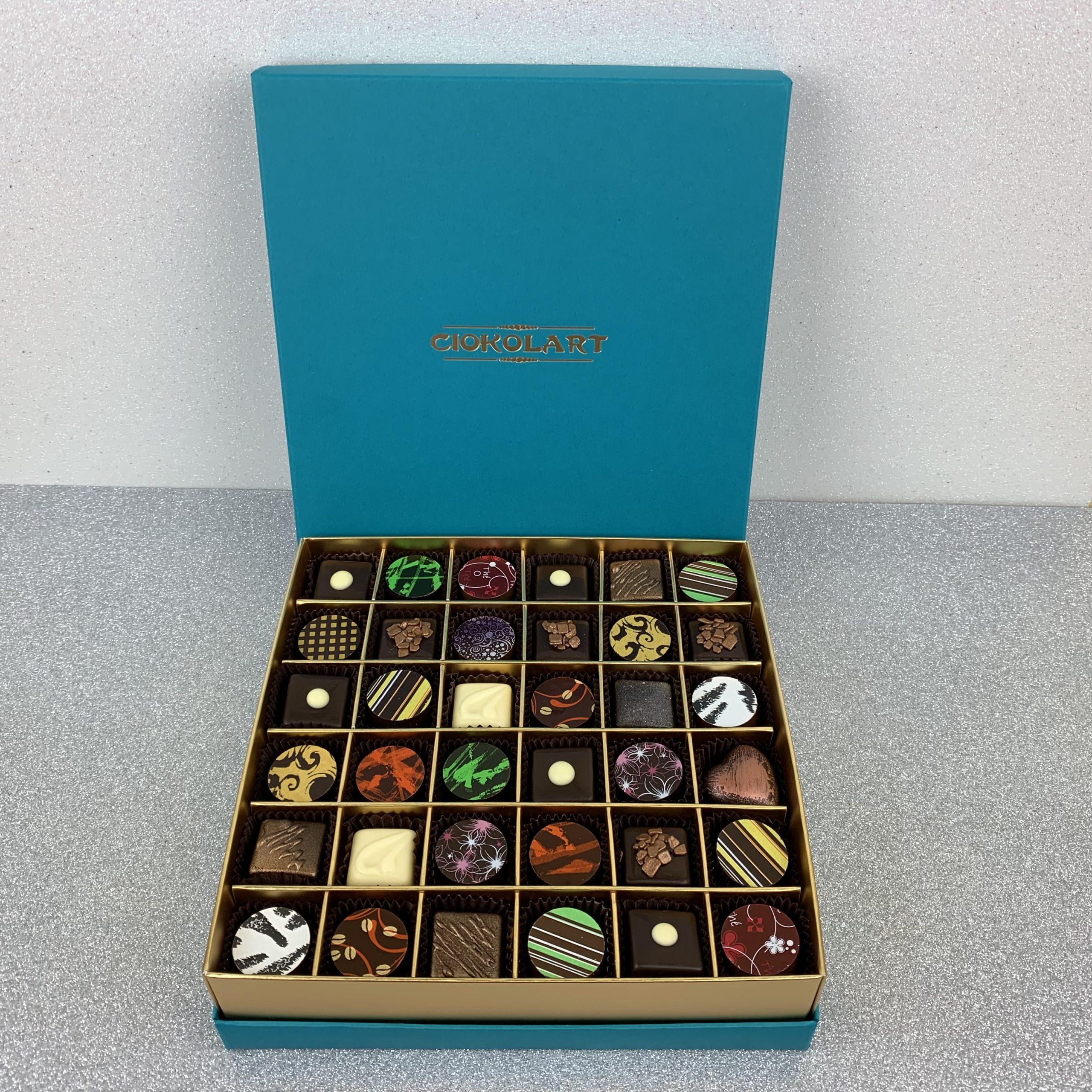 Collezione Elegante, 36 cioccolatini