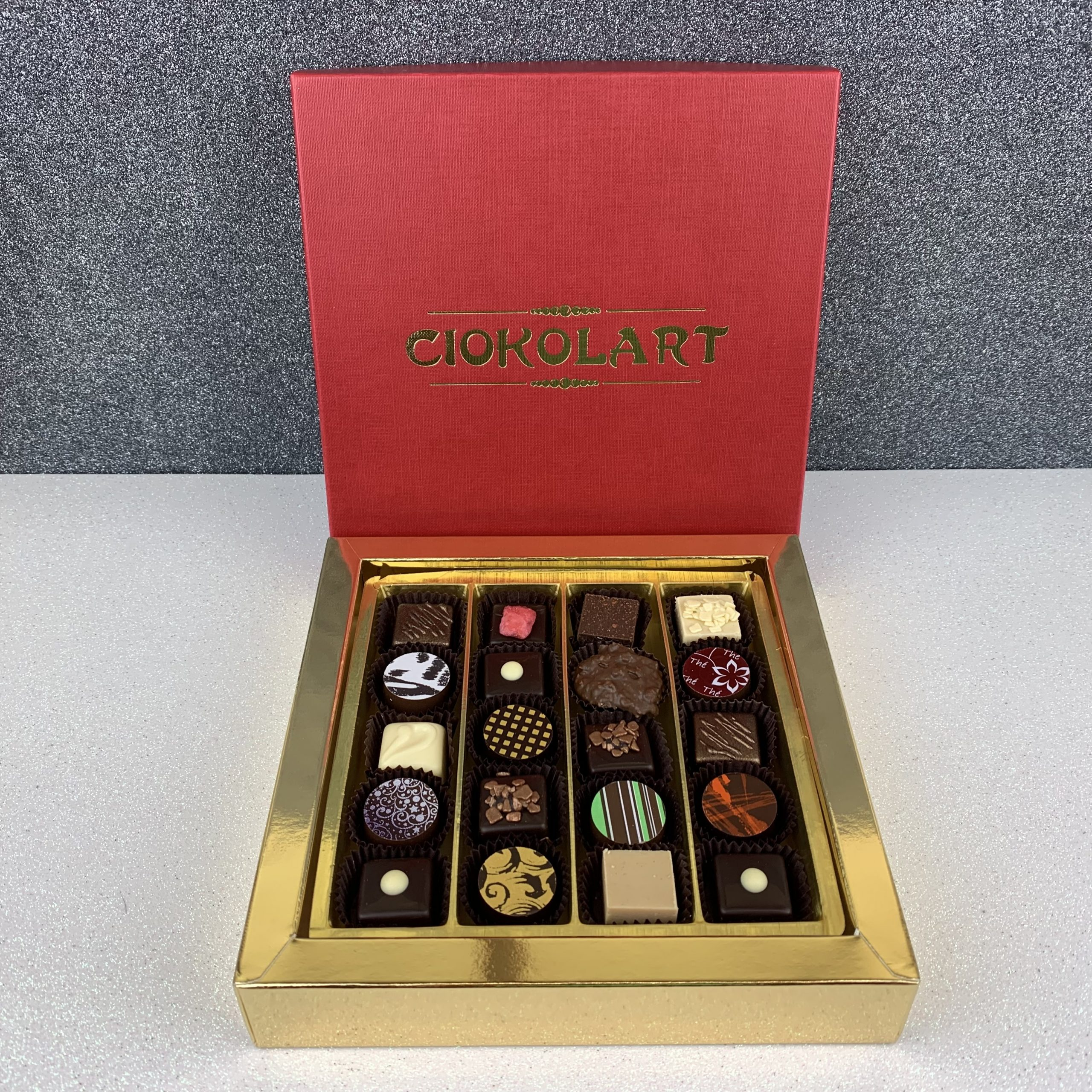 La Scatola Regalo, Quadrata, 20 cioccolatini