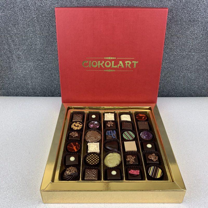 La Scatola Regalo, Quadrata, 30 cioccolatini