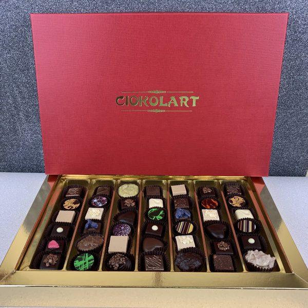 La Scatola Regalo, 42 cioccolatini